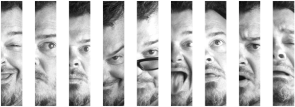 The many faces of Geoff (that's me!)