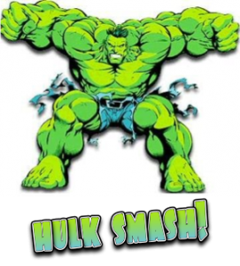 Hulk Smash Over Rude Behaviour