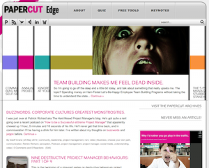 New Look for Papercut Edge!