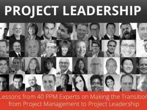 Lessons from 40 PPM Experts on Making the Transition to Project Leadership